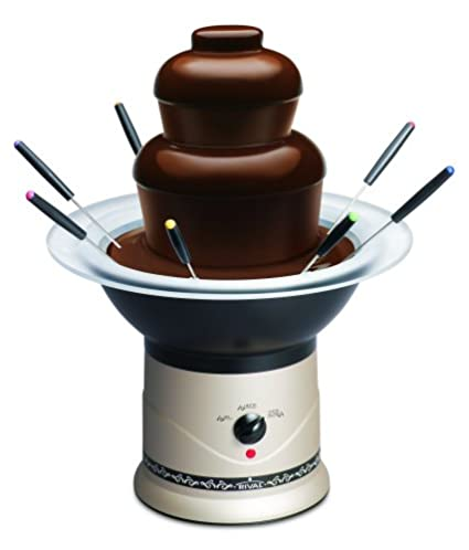 Amazon Rival Cff5 Chp Chocolate Fountain Kitchen Dining