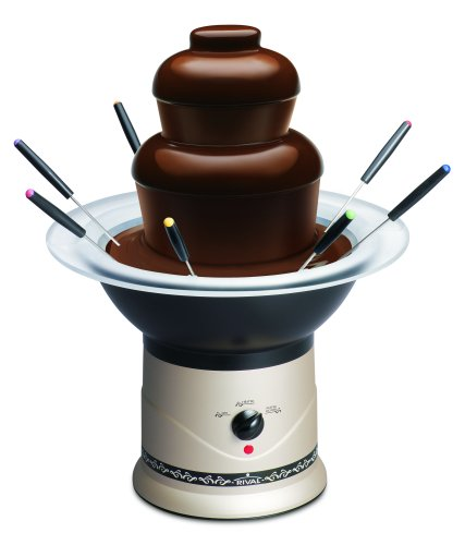 Rival CFF5-CHP Chocolate Fountain (Fountain Chocolate Rival compare prices)