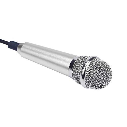 - MChoice❤️Mini Karaoke Condenser Microphone for Phone Computer Mini PhoneMic (Silver)