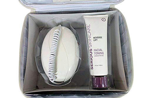 (Microcurrent Skin Care Kit, High Frequency Facial Machine and Skin Care Products)