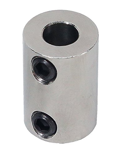5/16 inch to 6mm Stainless Steel Set Screw Shaft Coupler