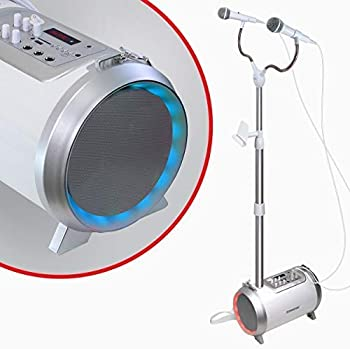 Croove Karaoke Machine for Adults and Kids with 2 Microphones