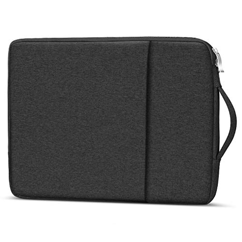Losong Protective Laptop Sleeve Briefcase Handbag Bag Compatible 13.3 Inch MacBook Air, Mac Pro 13 Retina Touch bar, Chromebook & Most 13 Inch Computer, Water-Resistant Notebook Case, Black (Laptop Case For A Sony Vaio)