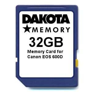 32GB Memory Card for Canon EOS 600D: Amazon.es: Electrónica