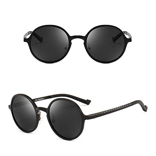 SSSX de los Polarizer de magnesio B B aluminio GYYTYJ protección de sol UV hombres de Color ronda Retro pesca Gafas gafas conducción dnXqp0