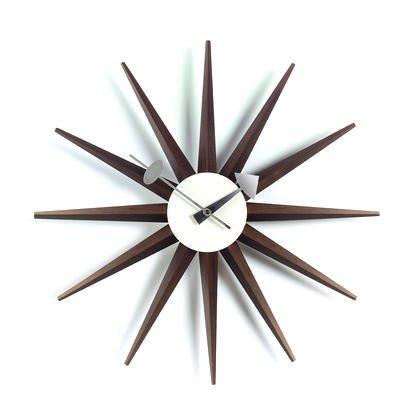 d1b540e304ed Amazon.com  Vitra George Nelson Sunburst Clock by