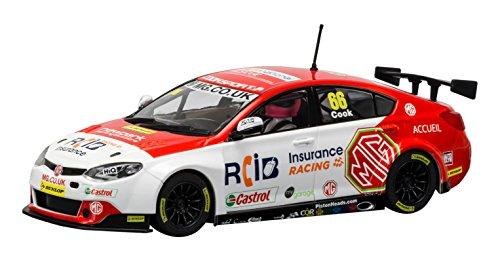Scalextric BTCC MG6 Gt Brands Hatch 2016 MG Racing Rcib Insurance #66 Josh Cook Slot Car (1: 32 Scale) (Racing Cars Scalextric)