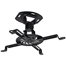 VIVO Universal Adjustable Black Ceiling Projector / Projection Mount Extending Arms (MOUNT-VP01B)