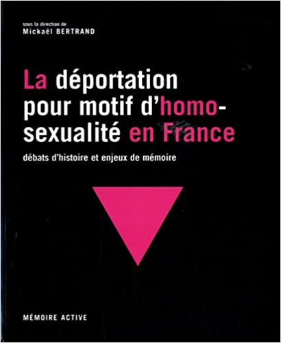 Téléchargement La déportation pour motif d'homosexualité en France : Débats d'histoire et enjeux de mémoire pdf ebook