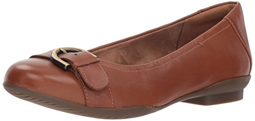 Donne In Marrone Delle Piatta Neenah Scuro Pelle Allodola Balletto Clarks 4CnYwE