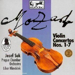 Mozart: Violin Concertos Nos. 1-7 by Josef Suk