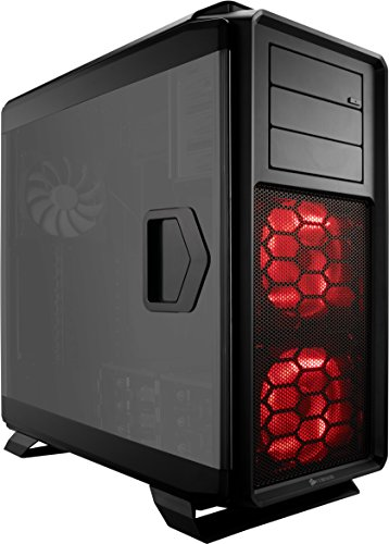 CORSAIR Graphite 760T Full-Tower Case, Window, Hinged Side Panels - Black