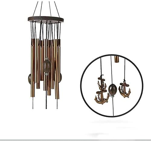 Details about  /Vintage Metal Multi-tube Large Wood Wind Chime Practical Home Room Decor New