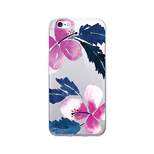 OTM Essentials Hibiscus, iPhone 7 Clear Phone Case