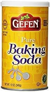 Soda Baking Free Gluten - Gefen Pure Baking Soda, 12oz (3 Pack) 2.25lb