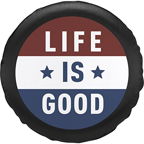 jeep tire cover life is good 32 - 6