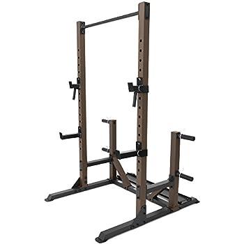 Amazon Com Steelbody Squat Rack Utility Trainer With