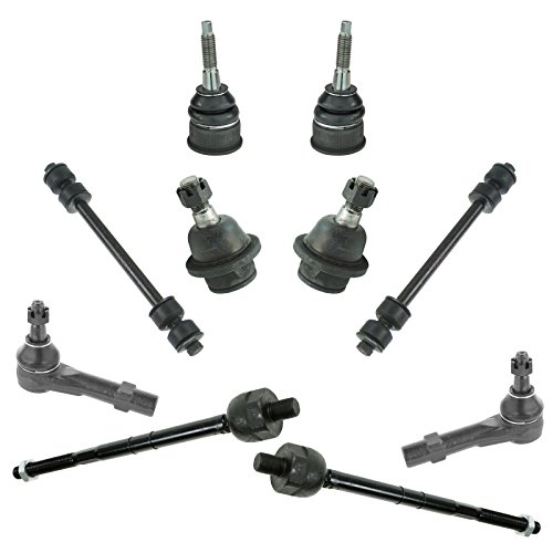 10 Piece Kit Ball Joint Tie Rod End Sway Bar Link LH RH for Explorer Mountaineer