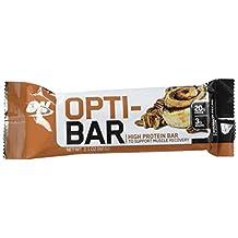 OPTIMUM NUTRITION ON-903 Opti-Bar Protein Bar, Cinnamon Pecan, 12-Count, 60-Gram