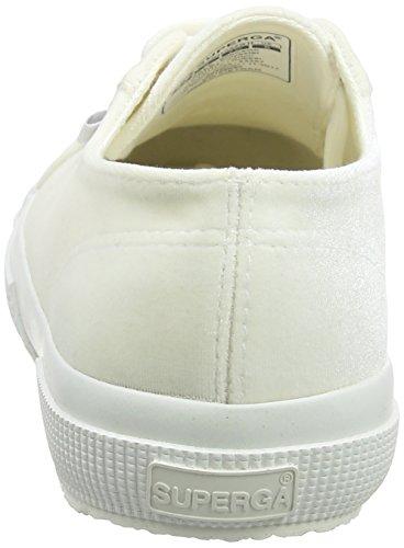 Polyvelvtw Donna Bianco Sneaker 2750 Superga wRBUn5Yqx
