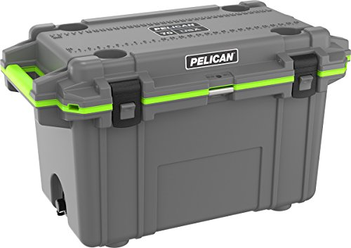 Cooler Cabelas (Pelican Elite 70 Quart Cooler (Dark Grey/Green))