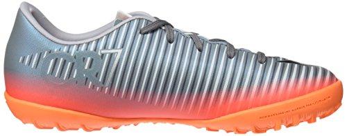 Nike Jr Mercurialx Victry 6 Cr7 Tf Zapatillas, Niños, Gris, 30