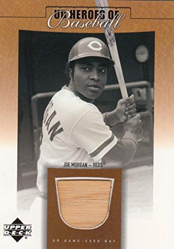 2001 Prospect Premieres Heroes of Baseball Game Bat #BJM Joe Morgan NM-MT+ MEM from Prospect Premieres