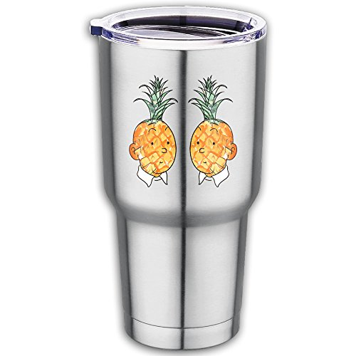 Pineapple Boys Stainless Steel Vacuum Insulated Tumbler Coffee Mug With Lib - India Sunglasses Wallpapers
