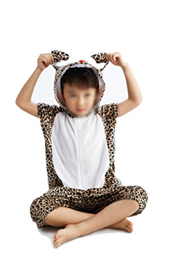 Children's Animal Clothing Halloween Cosplay Jumpsuitstage Costumes,Flower -
