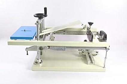 Amazon com: TechTongda Manual Cylinderical Screen Printing