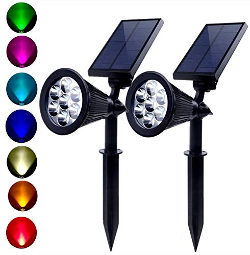 Multi Colored Solar Landscape Lights