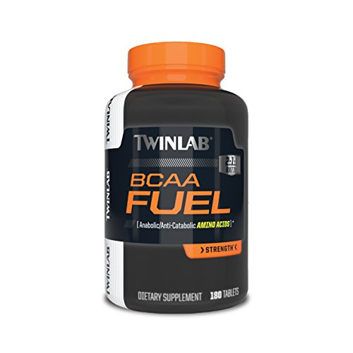 Twinlab BCAA Fuel, 180 Tablets (Tabs 180 Fuel)