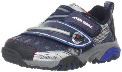 f1bbbb4da8ae35 Stride Rite Star Wars Morphing Lightsaber Light-Up Shoes (Toddler Little Kid )