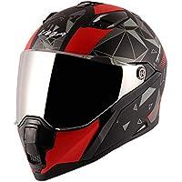 Vega Storm Drift Dull Black Red Helmet-L