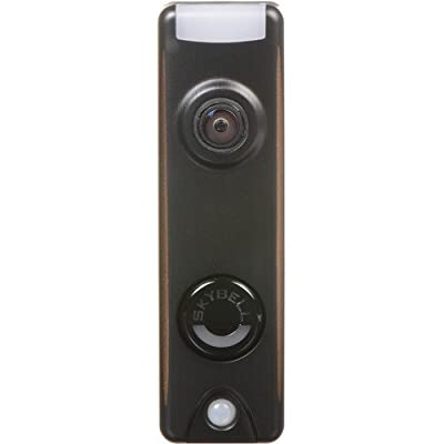 Honeywell SkyBell Slim Design 1080p Wi-Fi Video Doorbell Bronze Finish