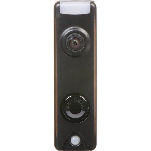 Honeywell SkyBell Slim Design 1080p Wi-Fi Video Doorbell Bronze Finish ()