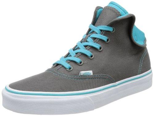 Vans U Authentic Hi 2 Pewter/Scuba Bl, Unisex Adults' Trainers Gray - Grau (Pewter/Scuba Blue)