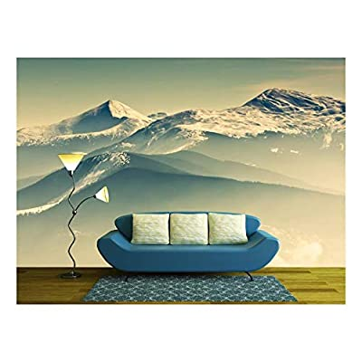 That You Will Love, Astonishing Print, Scenic View of The Winter Mountains
