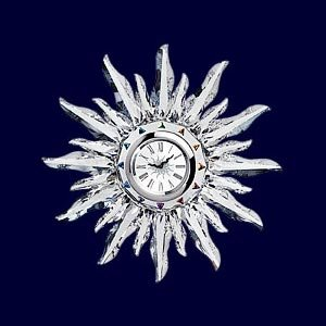 Swarovski Solaris Table Clock 221626
