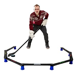 Hockey Revolution Stickhandling Training Aid, Equipment for Puck Control, Reaction Time and Coordination - MY ENEMY PRO