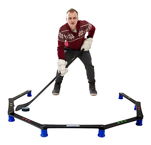 Hockey Revolution Stickhandling Training Aid, Equipment for Puck Control, Reaction Time and Coordination - MY ENEMY (Stickhandling Training)