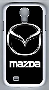 Samsung Galaxy S4 Case, S4 Case - Best Protective White Slim Hard Case Cover for Samsung Galaxy S4 I9500 Mazda Car Logo 5 Hard Case Back Cover Protector for Samsung Galaxy S4 I9500