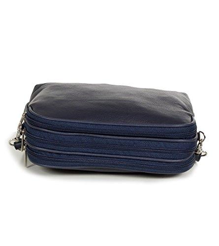 Taschenloft, Borsa a tracolla donna 20 x 16 x 9 cm blu (navy)
