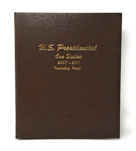 Dansco US Presidential Dollar with Proof Coin Album 2007 - 2011 #8184