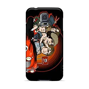 Excellent Hard Cell-phone Cases For Samsung Galaxy S5 With Customized Beautiful Ac Dc Band Pictures JasonPelletier