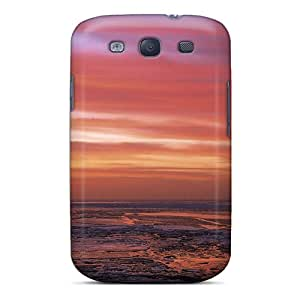 CXqojGE6814uPOTi William M Anaximander Sunset Over An Icy Lake Feeling Galaxy S3 On Your Style Birthday Gift Cover Case