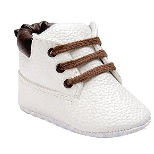 Amlaiworld Baby Schuhe (11cm, weiß)