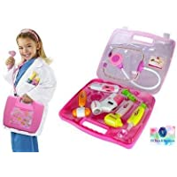 VG Toys & Novelties Battery Operated Doctor's Kit Play Set for Kids with Light Sound Effects