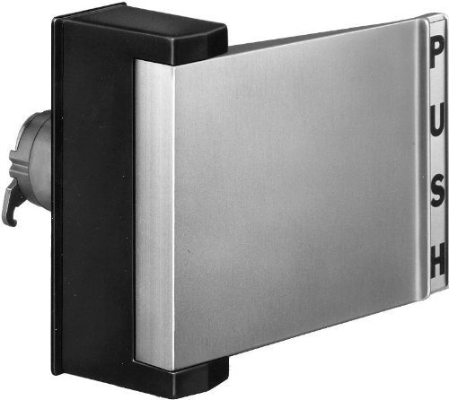 DNW 103 Push ~ Pull Paddle Handle For Aluminum Narrow Stile Store Front Glass Doors (Push to Left) by DNW Narrow Paddle