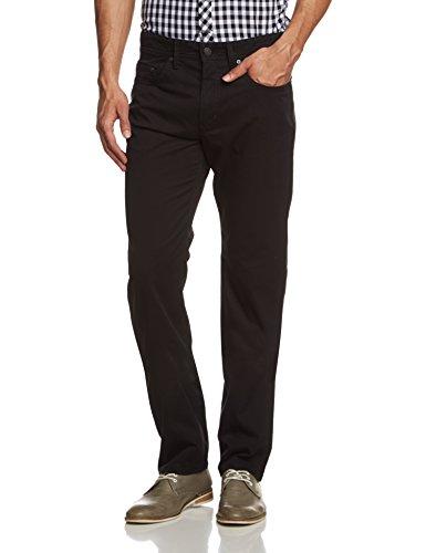 MAC - Ben, Pantolon straight da uomo, nero (schwarz  (power black p090)), 54